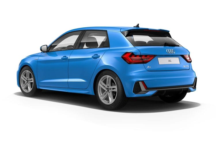 Audi A1 25 Sportback 5Dr 1.0 TFSI 95PS S line 5Dr Manual [Start Stop] back view