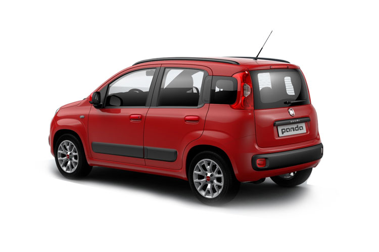 Fiat Panda Hatch 5Dr 1.0 MHEV 70PS Sport 5Dr Manual [Start Stop] back view