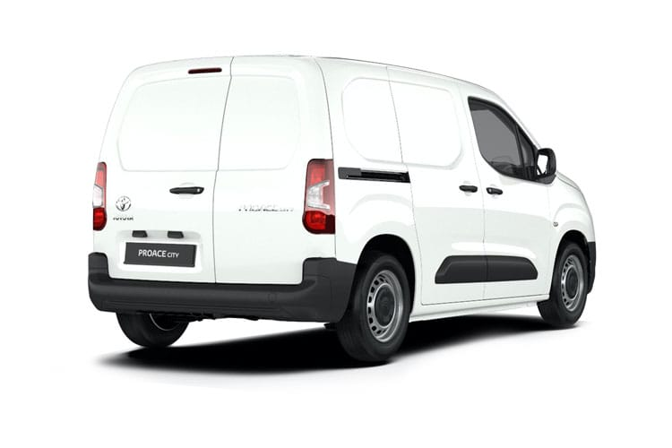 Toyota PROACE CITY Short 1.5  BlueHDi FWD 100PS Active Van Manual [Start Stop] [Smart Cargo] back view