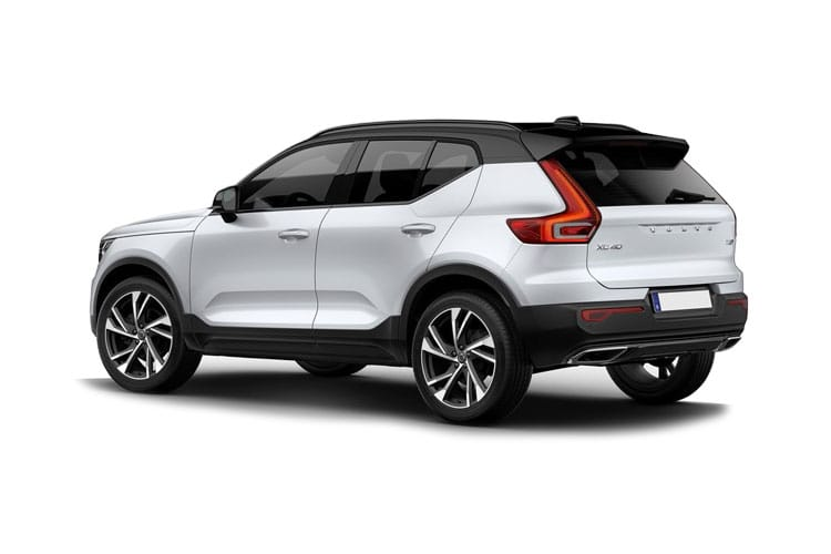 Volvo XC40 SUV 2.0 B4 MHEV 197PS R DESIGN Pro 5Dr Auto [Start Stop] back view