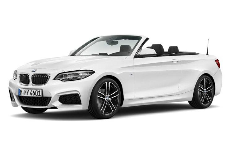 BMW 2 Series 218 Convertible 2.0 d 150PS Sport 2Dr Auto [Start Stop] [Tech II] front view