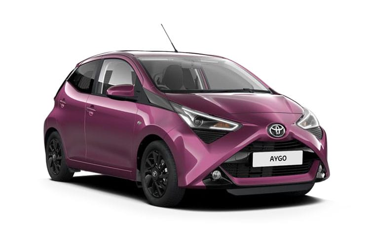 Toyota Aygo Hatch 5Dr 1.0 VVTi 71PS x 5Dr Manual front view