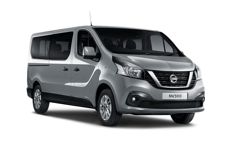 Nissan NV300 L2 30 M1 2.0 dCi FWD 120PS Tekna Combi Manual front view