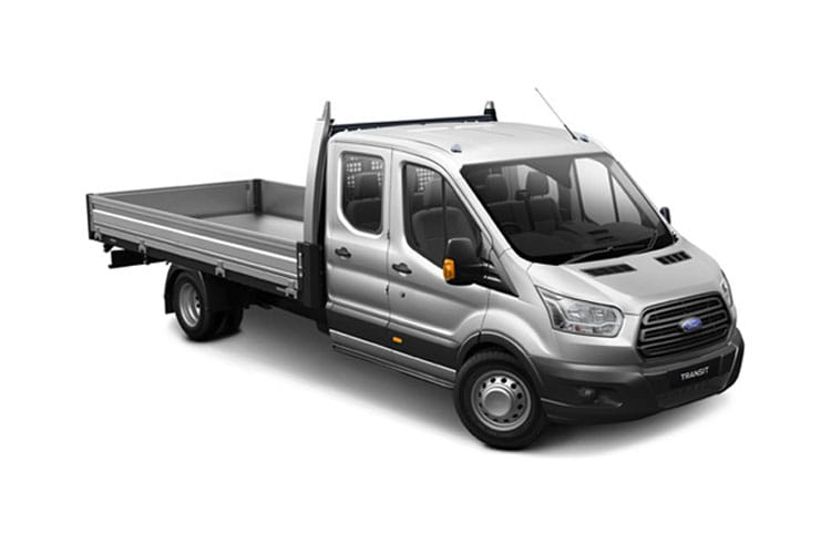 Ford Transit 350 L3 2.0 EcoBlue FWD 130PS Leader Tipper Manual [Start Stop] [1Way 1Stop Aluminium Tool Pod] front view