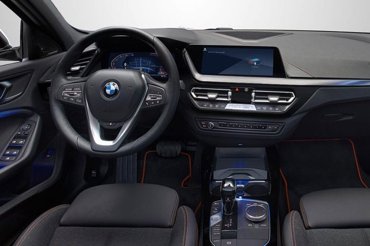 BMW 1 Series 116 Hatch 5Dr 1.5 d 116PS SE 5Dr DCT [Start Stop] inside view