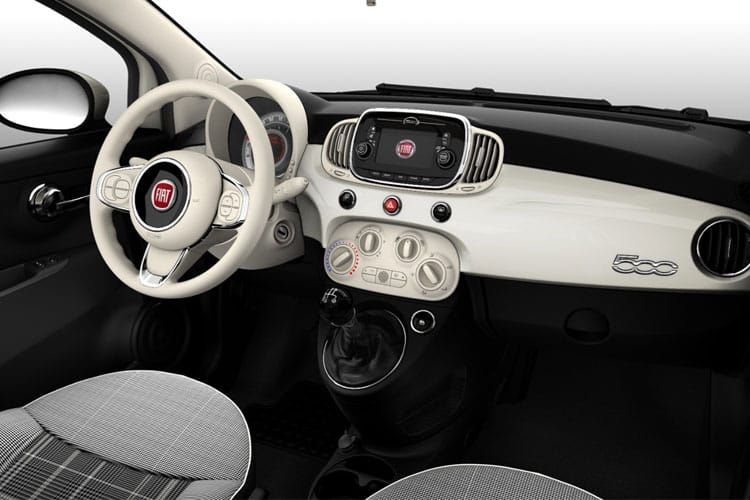 Fiat 500 C Convertible 1.0 MHEV 70PS Connect 2Dr Manual [Start Stop] inside view