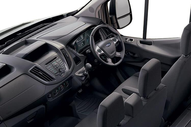Ford Transit 350 L5 2.0 EcoBlue FWD 130PS Leader Luton Auto [Start Stop] [Skeletal Low Floor] inside view
