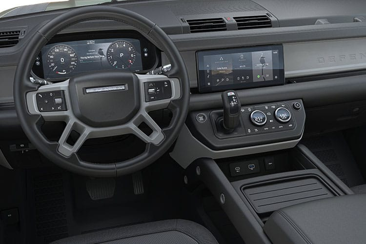 Land Rover Defender 110 SUV 5Dr 3.0 D MHEV 300PS HSE 5Dr Auto [Start Stop] [Family Pack] inside view