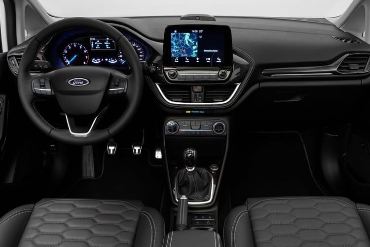 Ford Fiesta Hatch 3Dr 1.0 T EcoBoost 95PS Trend 3Dr Manual [Start Stop] [SNav] inside view