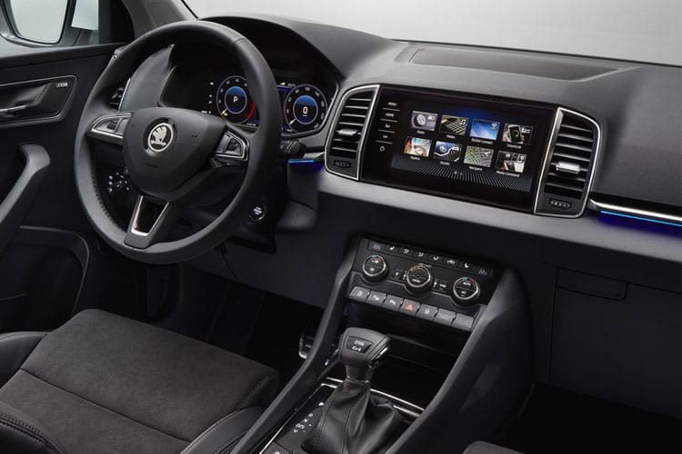 Skoda Karoq SUV 2.0 TDi 150PS SE L 5Dr Manual [Start Stop] inside view