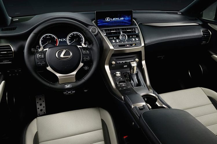 Lexus NX 300h SUV 2.5 h 197PS NX 5Dr E-CVT [Start Stop] [17in] inside view