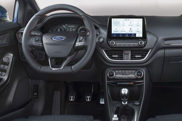 Ford Puma SUV 1.0 T EcoBoost MHEV 125PS ST-Line X 5Dr Manual [Start Stop] inside view