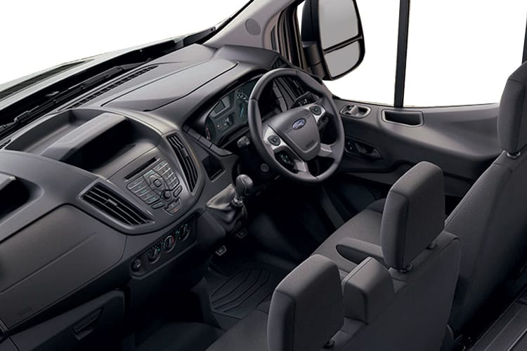 Ford Transit 350 L3 2.0 EcoBlue FWD 170PS Leader Premium Dropside Double Cab Manual [Start Stop] inside view