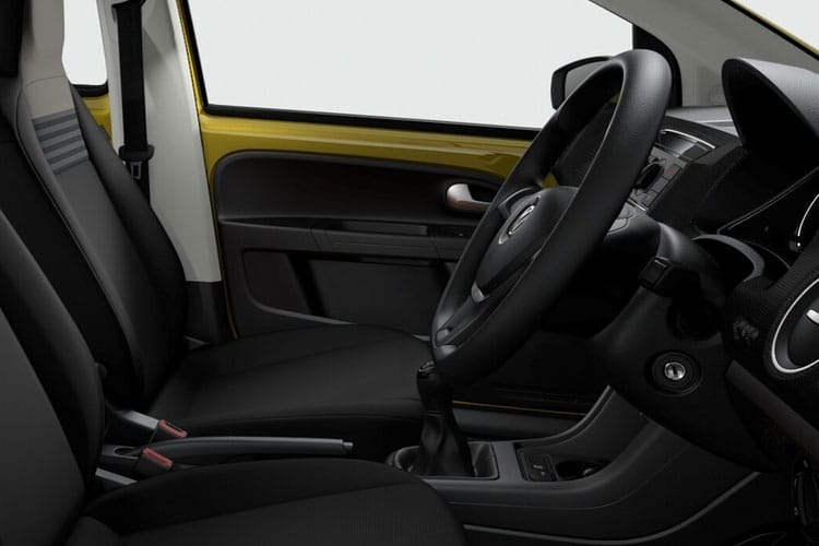 Volkswagen up! Hatch 5Dr 1.0  60PS Black Edition 5Dr Manual [Start Stop] inside view